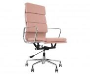Image de la chaise design Eames Soft Pad EA219 - Rosa