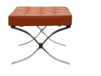Image de la chaise design Ottoman Barcelona - Coñac