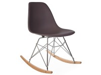 Image de la chaise design Rocking chair Cosy - Taupe