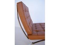 Image de la chaise design Silla Barcelona - Caramelo