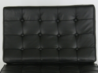 Image de la chaise design Silla Barcelona - Negro
