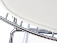 Image de la chaise design Silla Bertoia Wire Side - Blanco