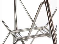 Image de la chaise design Silla Cosy Metal - Beige gris