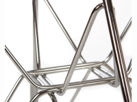 Image de la chaise design Silla Cosy Metal - Gris