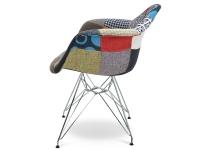 Image de la chaise design Silla DAR acolchada - Patchwork