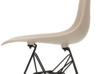 Image de la chaise design Silla DSR - Gris beige