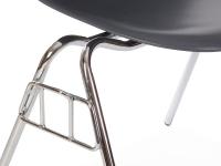 Image de la chaise design Silla DSS apilable - Antracita