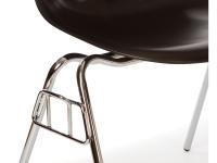 Image de la chaise design Silla DSS apilable - Negro