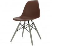 Image de la chaise design Silla DSW - marrón