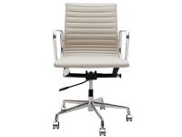 Image de la chaise design Silla Eames Alu EA117 - Gris claro
