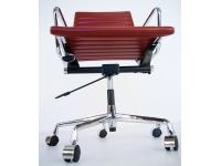 Image de la chaise design Silla Eames Alu EA117 - Rojo oscuro