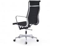 Image de la chaise design Silla Eames Alu EA119 - Antracita
