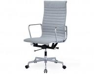 Image de la chaise design Silla Eames Alu EA119 - Gris claro