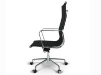 Image de la chaise design Silla Eames Alu EA119 - Negro