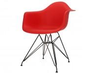 Image de la chaise design Silla Eames DAR - Rojo vivo