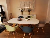 Image de la chaise design Silla Eames DAW - Azul verde