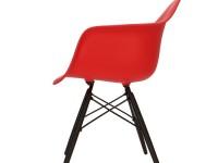Image de la chaise design Silla Eames DAW - Rojo vivo