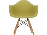 Image de la chaise design Silla Eames DAW - Verde oliva