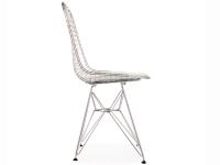 Image de la chaise design Silla Eames DKR - Blanco