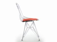 Image de la chaise design Silla Eames DKR - Rojo