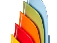 Image de la chaise design Silla Eames DSS apilable - Beige gris