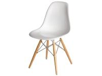 Image de la chaise design Silla Eames DSW - Blanco brilliante