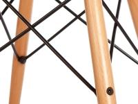 Image de la chaise design Silla Eames DSW - Gris ratón