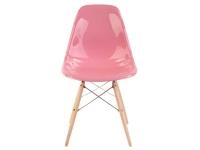 Image de la chaise design Silla Eames DSW - Rosa brilliante