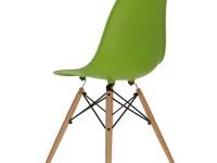 Image de la chaise design Silla Eames DSW - Verde manzana