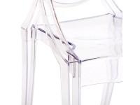 Image de la chaise design Silla Louis Ghost- Transparente