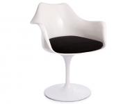 Image de la chaise design Sillón Tulip Saarinen