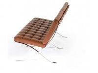 Image de la chaise design Sofá Barcelona 2 plazas - Premium Cognac