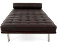 Image de la chaise design Sofá cama Barcelona 195 cm - Marrón oscuro