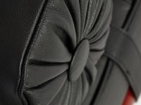 Image de la chaise design Sofá cama Barcelona 195 cm - Negro