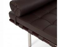 Image de la chaise design Sofá cama Barcelona 198 cm - Marrón oscuro