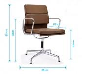Image de la chaise design Soft Pad COSY Office Chair 208 - Blanco marfil
