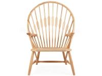 Image de la chaise design Wegner Silla Peacock