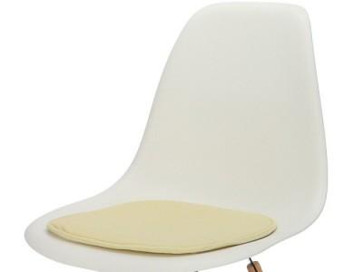 Image de la chaise design Cojín eames - Crema
