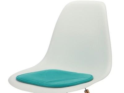 Image de la chaise design Cojín eames - Turquesa