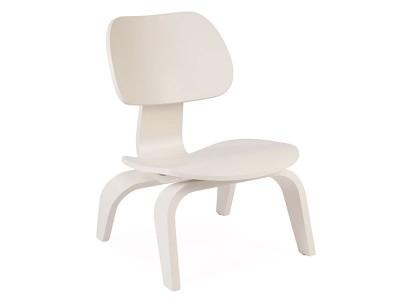 Image de la chaise design Eames chair LCW niño - Blanco