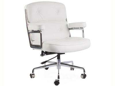 Image de la chaise design Eames Lobby ES104 - Blanco