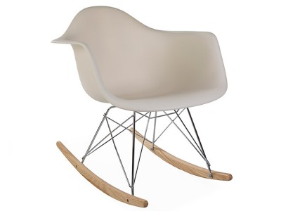Image de la chaise design Eames Rocking Chair  RAR - Crema