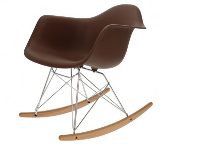 Image de la chaise design Eames Rocking Chair RAR - Marrón
