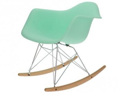 Image de la chaise design Eames Rocking Chair RAR - Menta verde