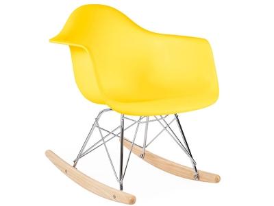 Image de la chaise design Eames rocking chair RAR niño - Amarillo