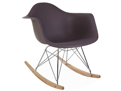 Image de la chaise design Eames Rocking Chair RAR - Taupe