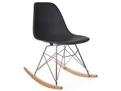 Image de la chaise design Eames Rocking Chair RSR - Antracita