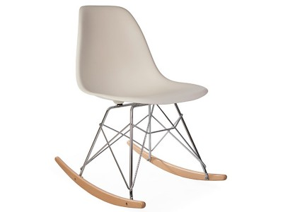 Image de la chaise design Eames Rocking Chair RSR - Crema