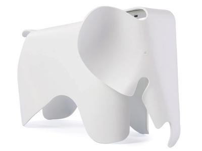 Image de la chaise design Elefante Eames - Blanco