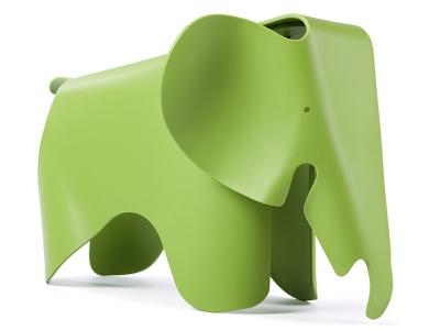 Image de la chaise design Elefante Eames - Verde